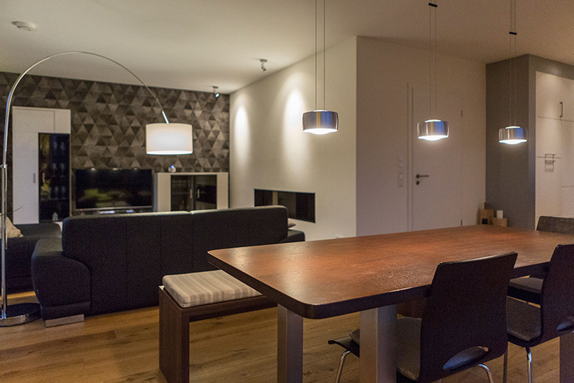 Beleuchtungsprojek-Stadthaus_Wohnraum