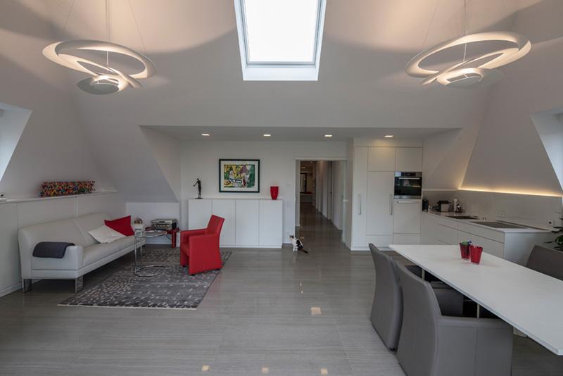 Licht-Dachgeschoss